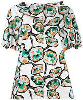 Marni floral print blouse - women - Cotton - 40