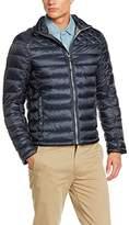 Tom Tailor Men's wattierte Jacke Jacket, White (white)