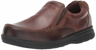 Nunn Bush Men's Cam Moc Toe Slip On Casual Lightweight Comfortable Loafer with Comfort Gel and Memory Foam