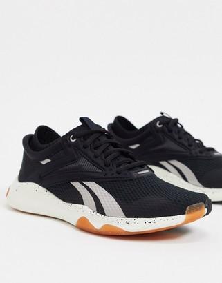 Reebok training HIIT TR sneakers in black