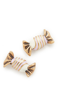 Marc Jacobs Striped Candy Stud Earrings