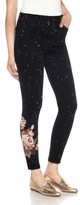 Joe's Jeans Women's Charlie Embroidered Ankle Jeans