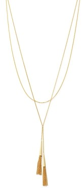 Bloomingdale's Layered Tassel Necklace in 14K Yellow Gold, 18 - 100% Exclusive