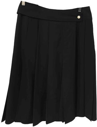 Sportmax Blue Wool Skirt for Women
