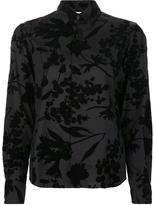 Comme des Garcons floral print shirt - women - Cotton/Nylon - L