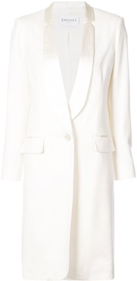 Vionnet cashmere fitted coat