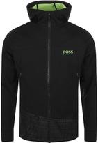 BOSS GREEN Sytech Hooded Jacket Black