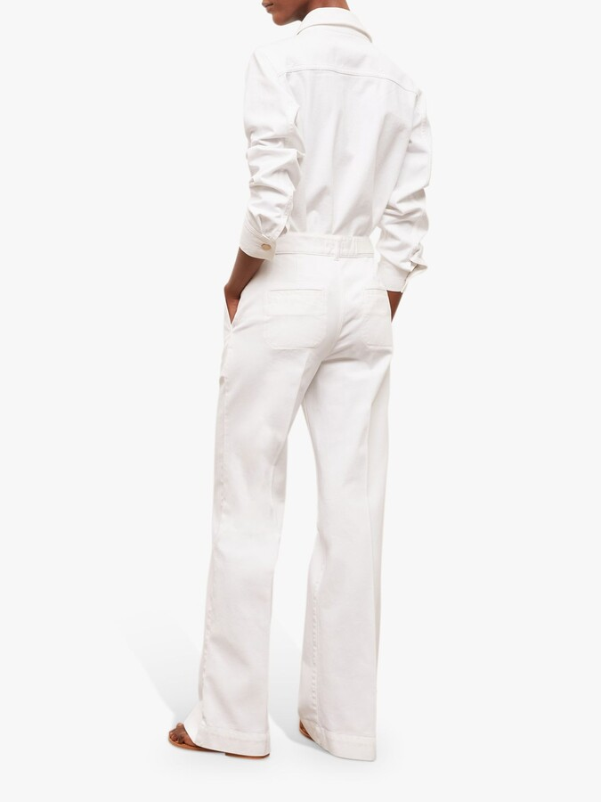 Thumbnail for your product : Gerard Darel Mia Flared Jeans, White
