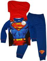 Superman Boys Novelty Pajama With Cape 2 to 8 Years