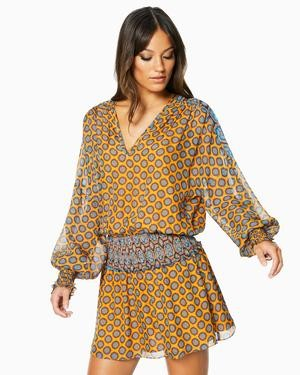 Ramy Brook Printed Davey Dress