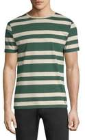 Burberry Striped Cotton Tee