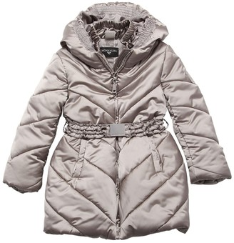 MonnaLisa Quilted Nylon Puffer Coat