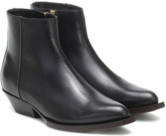 Jimmy Choo Jun leather ankle boots