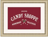 Personalized Candy Shop Canvas