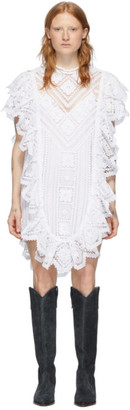 Isabel Marant White Zanetti Short Dress