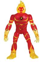 Ben 10 Deluxe Power Up Figures - Heatblast