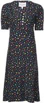 HVN star print shortsleeved dress