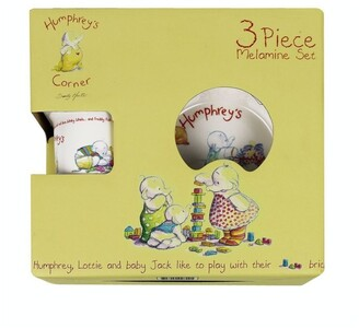 Babyhood Humphreys 3pce Melamine Set Assorted