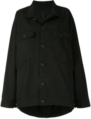 Yohji Yamamoto Oversized Jacket Top