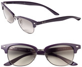 Ray-Ban 'Clubmaster Cat' 52mm Sunglasses Violet One Size