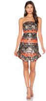 Lumier Track Start Strapless Dress