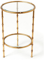 One Kings Lane Jefferson Side Table - Gold