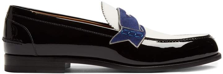 Christian Louboutin Monono patent leather loafers