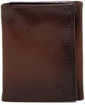 Original Penguin Michigan Slim Tri-Fold Wallet