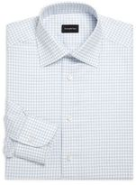 Ermenegildo Zegna Classic-Fit Long Sleeve Cotton Dress Shirt