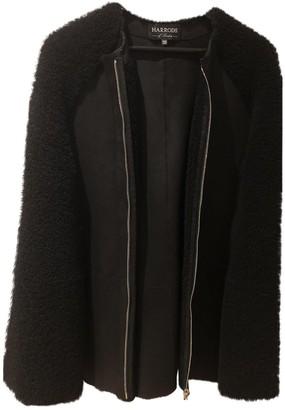 Harrods Black Shearling Jacket for Women