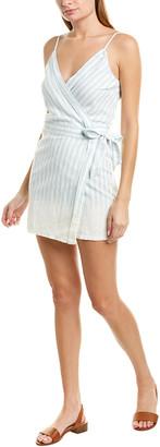 Young Fabulous & Broke Alberta Linen-Blend Wrap Dress