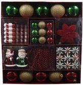 St. Nicholas Square® Traditional Shatterproof Christmas Ornament 50-piece Set