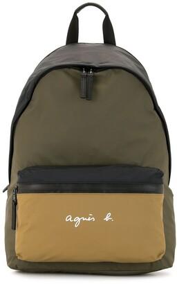 agnès b. Colour Block Backpack
