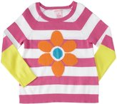 Design History Daisy Sweater Tunic (Toddler/Kid) - Mod Pink-2T