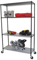 "Trinity 77"" H 3 Shelf Shelving Unit"