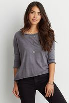 American Eagle Outfitters AE Split Back T-Shirt