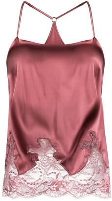 Fleur of England Bisou lace panel camisole