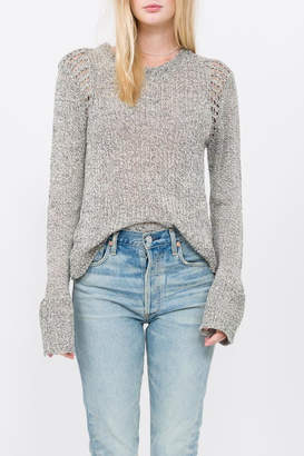 Qi Knit Pullover Top