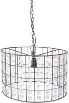 Casa Uno Iron Pendant Light with Beads