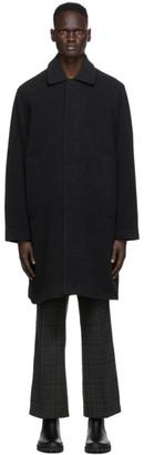 Schnaydermans Grey Merino Wool Car Coat