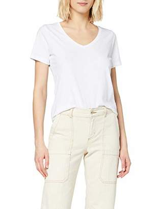 Only Women's Onlpure Life S/S V-Neck Top Noos JRS T-Shirt,16 (Size: )
