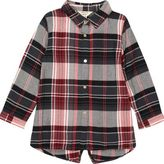 River Island Baby girls red check longline shirt