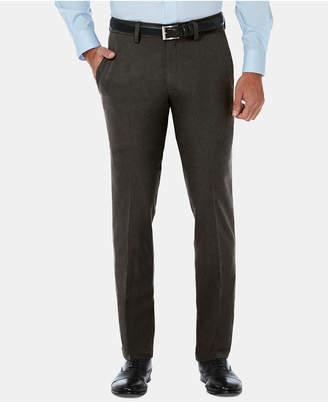 Haggar Men Cool 18 Pro Slim-Fit 4-Way Stretch Moisture-Wicking Non-Iron Dress Pants
