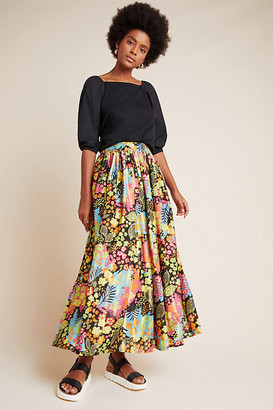 Cyrene Maxi Skirt By Mynah Designs in Assorted Size XS