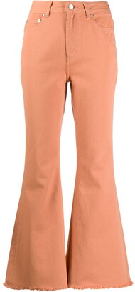 Neul Flared Style Trousers