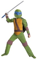 Leonardo Boy's Animated Classic Muscle Costume