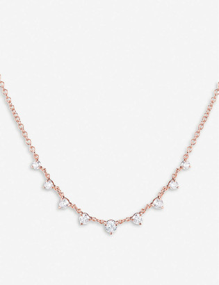 The Alkemistry x Carbon and Hyde 14ct rose-gold and diamond Mini Star necklace