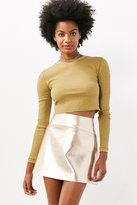 Silence & Noise Silence + Noise Beverly Thermal Cropped Top
