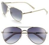 Christian Dior 'Picadilly 2' 59mm Metal Aviator Sunglasses