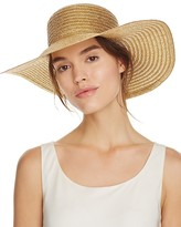 August Accessories Metallic Floppy Hat